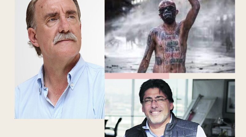 Eduardo Artés, Daniel Jadue y Rodrigo Vade